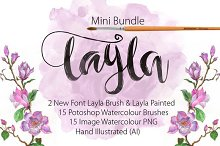 Mini Bundle Font Layla
