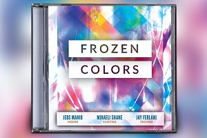 Frozen Colors CD Album Artwork