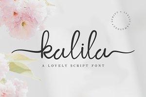 kalila script font