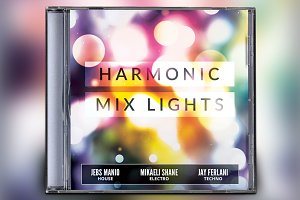 Harmonic Mix Lights CD Album Artwork
