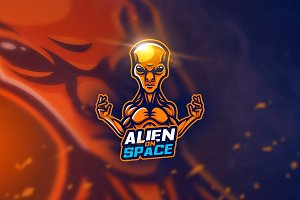 Alien - Mascot & Esport Logo