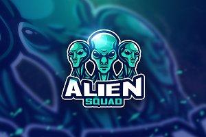 Alien green - Mascot & Esport Logo