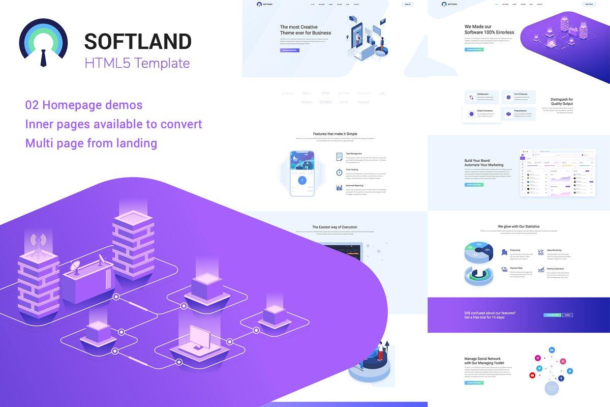 Softland Creative SaaS and Software