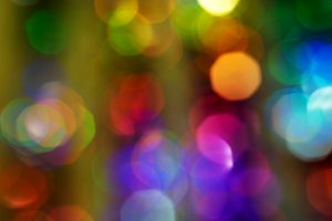 New Year background. Blurred