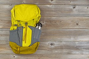 Weather Proof Backpack with canteen