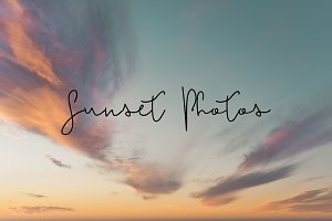 4 Sunset Photos