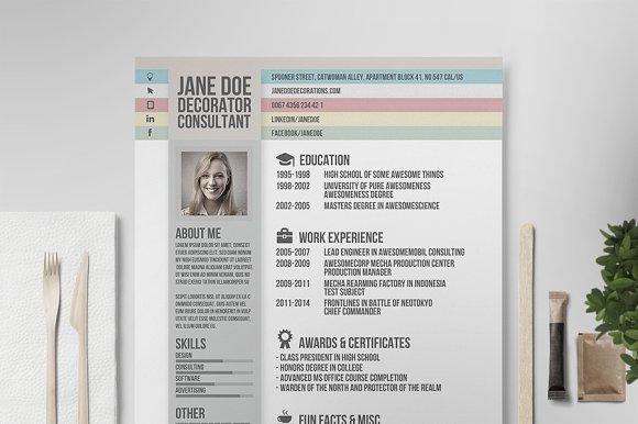 Creative Resume Vol.2 - Resumes