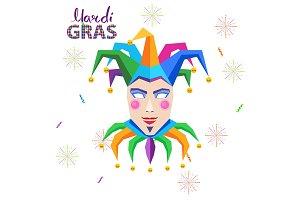 Mardi Gras Carnival Vector Concept