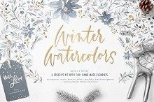 Winter Watercolors Kit