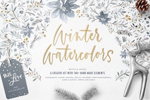 Winter Watercolors Kit