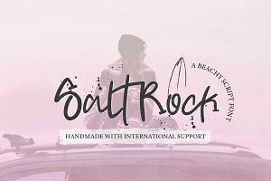 SaltRock | Beachy Script