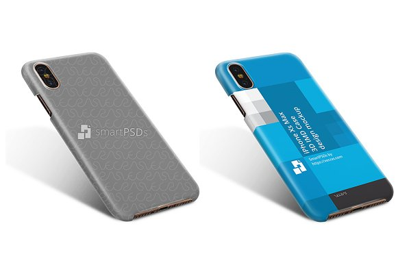iPhone XS-XS Max 3d IMD Case Design…