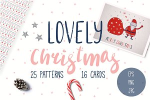 Lovely Christmas Cards & Patterns