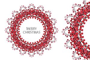 Christmas and New Year Wreath(1)