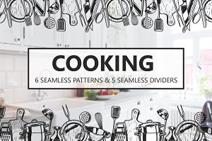 Cooking seamlespatterns and dividers