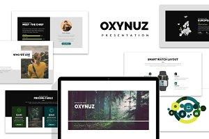 Oxynuz : Minimal Style Google Slides