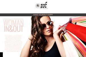 Zoe - Modern Wordpress Blog Theme