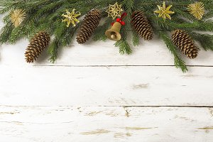 Christmas background wooden jingle b