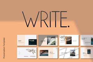 Write Keynote
