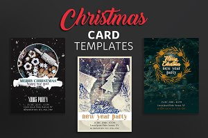 Christmas Party Card Templates