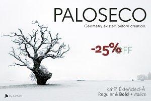 PALOSECO Geo-Grotesk -4 fonts-