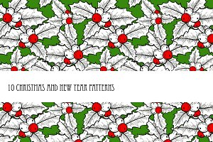 10 Christmas Patterns