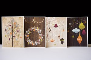 HOLIDAY CARD PACK A