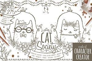 Cat Society Character Creator