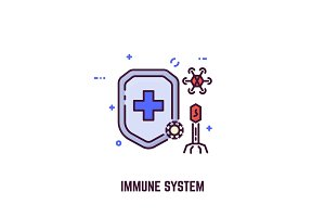 Immune system and shield