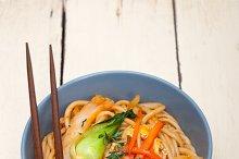 hand pulled ramen noodles and vegetables 001.jpg