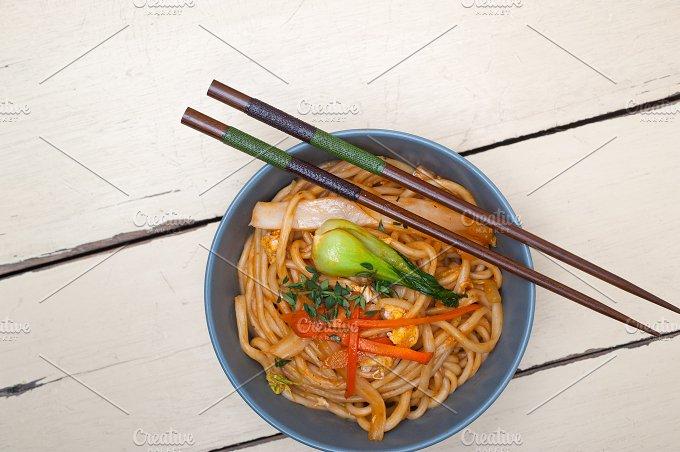 hand pulled ramen noodles and vegetables 003.jpg - Food & Drink
