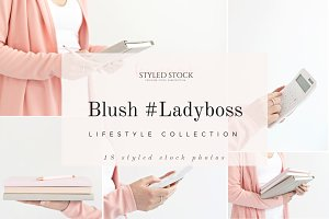 Blush #LadyBoss Styled Photo Bundle