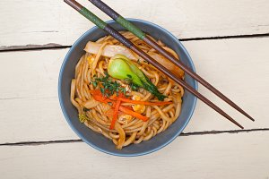 hand pulled ramen noodles and vegetables 004.jpg
