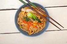 hand pulled ramen noodles and vegetables 005.jpg