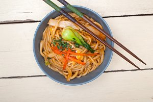 hand pulled ramen noodles and vegetables 005.jpg