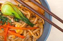 hand pulled ramen noodles and vegetables 008.jpg