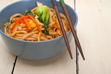 hand pulled ramen noodles and vegetables 011.jpg