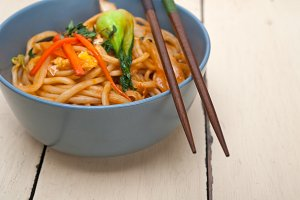 hand pulled ramen noodles and vegetables 011.jpg