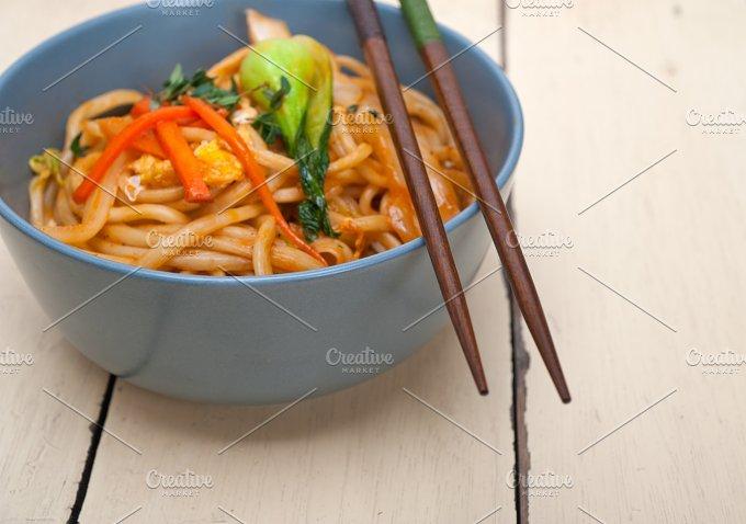hand pulled ramen noodles and vegetables 011.jpg - Food & Drink