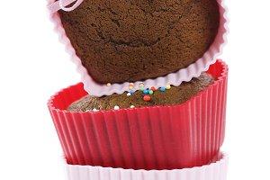 heart shape muffins
