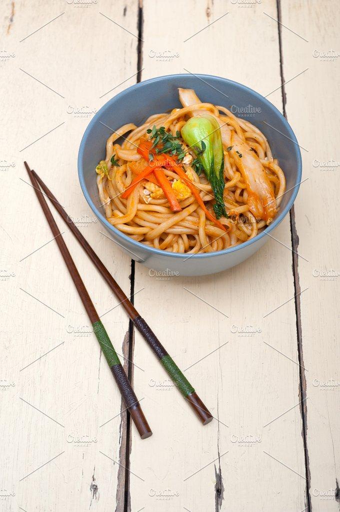 hand pulled ramen noodles and vegetables 016.jpg - Food & Drink