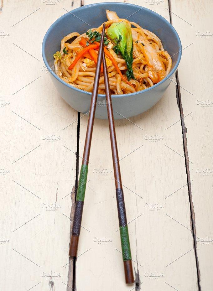 hand pulled ramen noodles and vegetables 017.jpg - Food & Drink