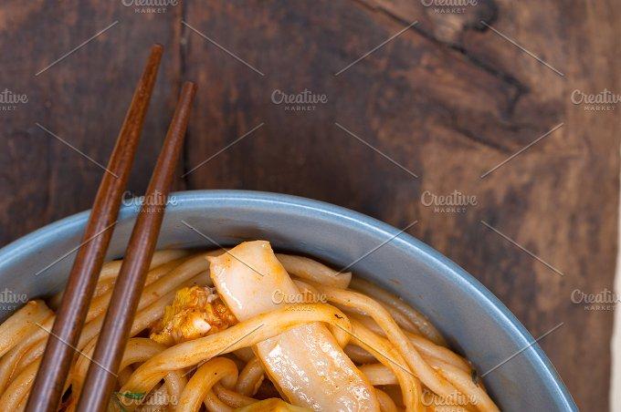 hand pulled ramen noodles and vegetables 023.jpg - Food & Drink
