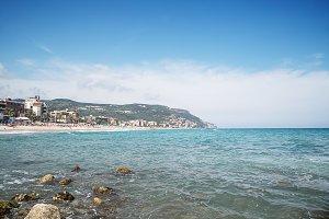 Scenic view of Pietra Ligure, Liguri