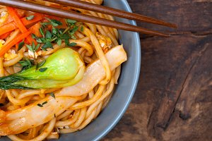 hand pulled ramen noodles and vegetables 024.jpg