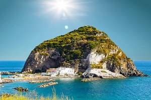 View of Sant Angelo, Ischia island I