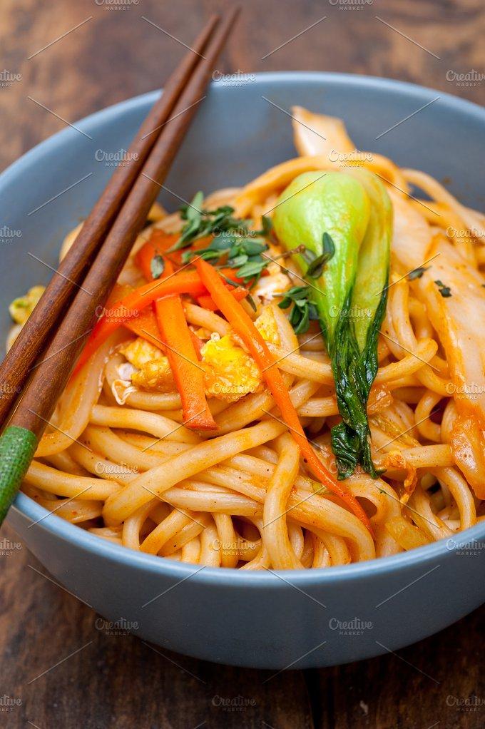 hand pulled ramen noodles and vegetables 030.jpg - Food & Drink