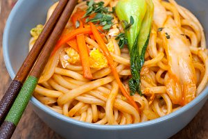 hand pulled ramen noodles and vegetables 032.jpg