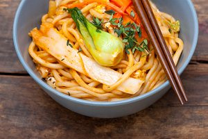 hand pulled ramen noodles and vegetables 034.jpg