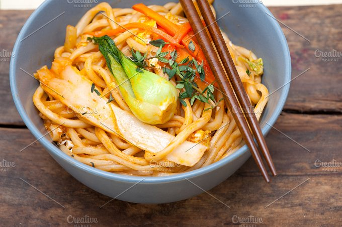 hand pulled ramen noodles and vegetables 035.jpg - Food & Drink